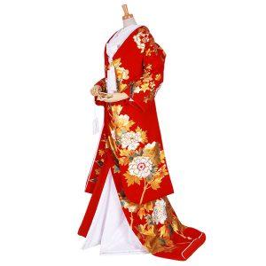 色打掛【U016】牡丹・桜熨斗