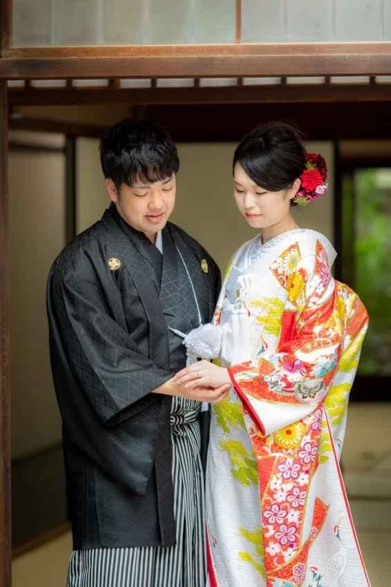 御池で婚礼撮影