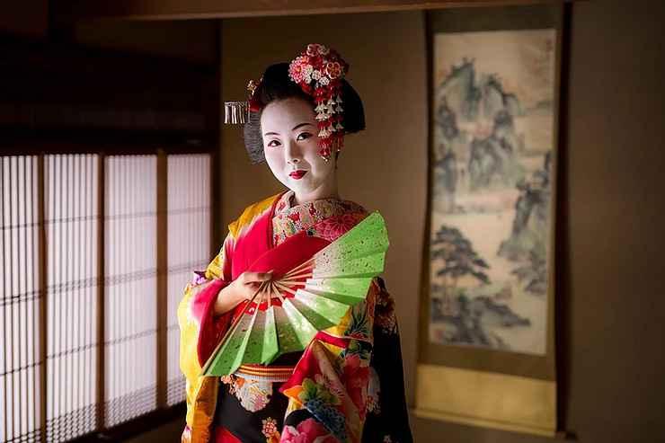 京町家で舞妓体験