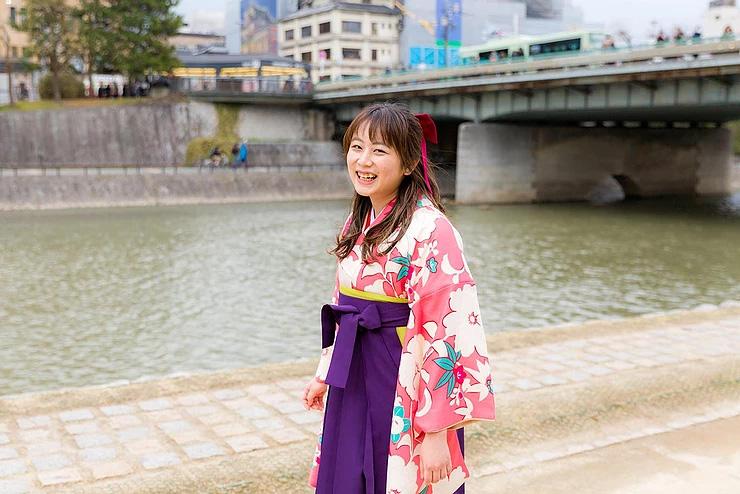 卒業式袴で京都ロケーションフォト