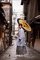 紋付袴京都ロケーション撮影