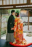 婚礼京町家室内撮影
