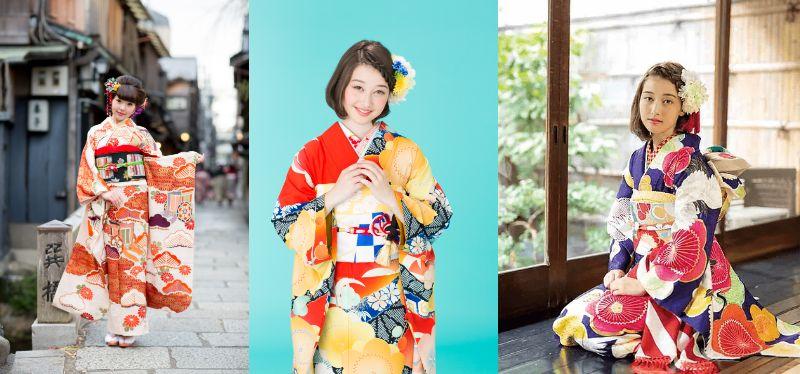 「京都着物レンタル夢館 フォトスタジオ」成人式前撮りプラン