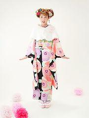 「京都着物レンタル夢館 フォトスタジオ」成人式前撮りプラン オプション 追加撮影
